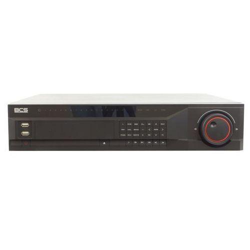 BCS-NVR32085M Rejestrator sieciowy do 32 kamer IP do 6 kl/s@5MPx, 12 kl./s@3 Mpx, 18 kl/s@1080p, 25 kl/s@1.3Mpx, 25 kl/s@720p, 25 kl/s@D1. Max. Bitrate 160/160 MBits. Obsługa VGA, HDMI, USB2.0, 8 dysków SATA i 4 dysków eSATA