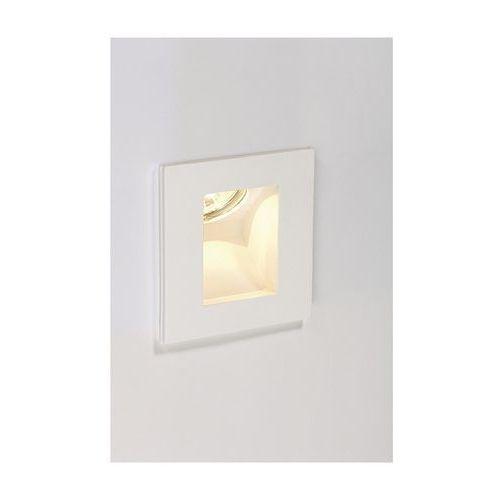 Oferta końc. do lampy,GL 108 INDI,kwadr,biały gips,MR16,max 35W z kat.: oświetlenie