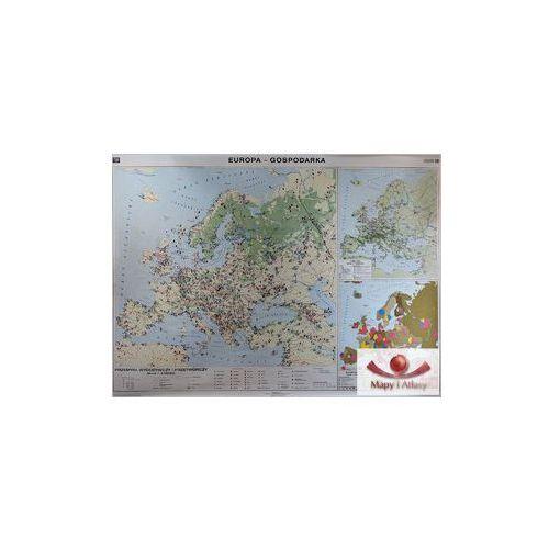 Europa. Mapa ścienna gospodarcza, produkt marki Nowa Era