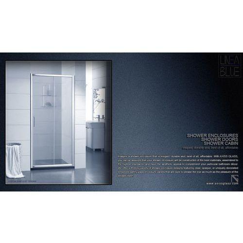 DRZWI PRYSZNICOWE AXISS GLASS AN6121D 1000mm (drzwi prysznicowe)
