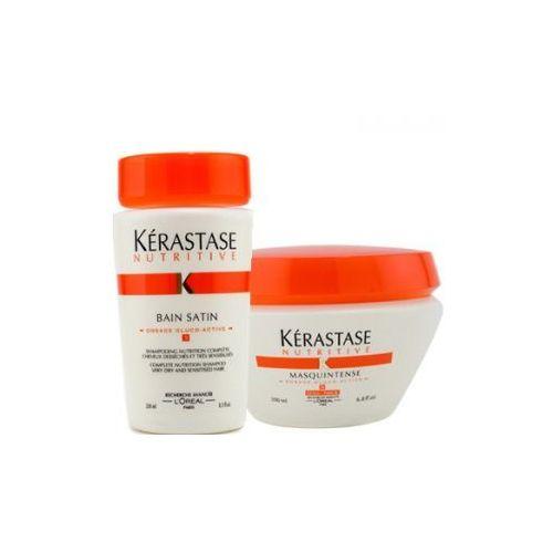 Produkt z kategorii- pozostałe kosmetyki do włosów - Zestaw nawilżająco - odżywczy włosy cienkie
