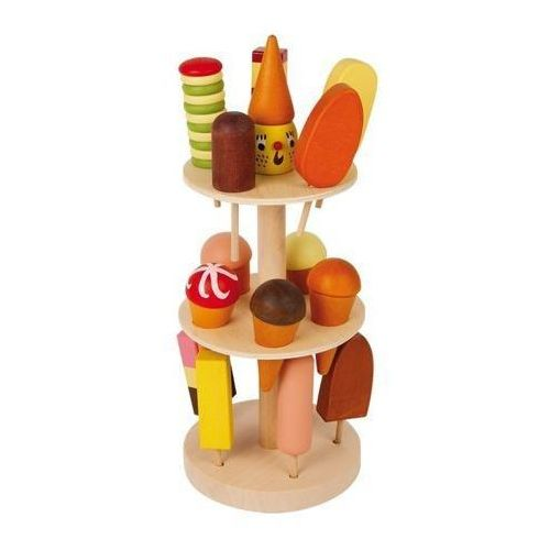Stojak na lody z lodami (15 smaków) - zabawka dla dzieci oferta ze sklepu www.epinokio.pl