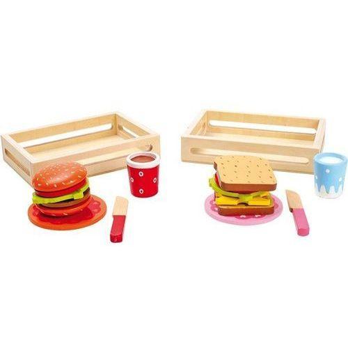 Hamburger i Sandwich - zabawka dla dzieci do zabaw w dom oferta ze sklepu www.epinokio.pl