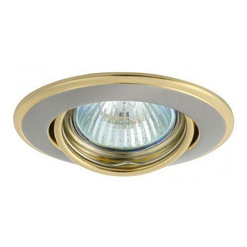 Kobi Oprawa oprawka led halogenowa ruchoma okrągła kolor satyna/złoty OH115 4372 z kategorii oświetlenie