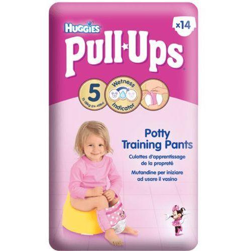 HUGGIES PULL-UPS rozmiar 5 (11-18kg) pieluchomajtki treningowe dla dziewczynek, kup u jednego z partnerów