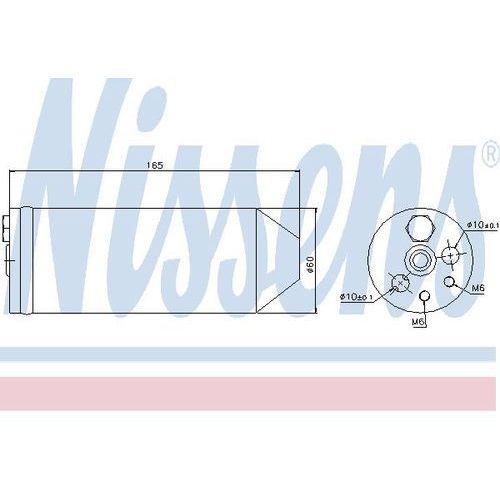 Towar z kategorii: osuszacze powietrza - Osuszacz, klimatyzacja NISSENS 95070