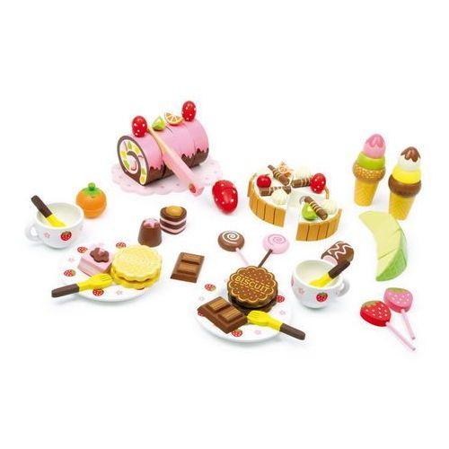 Pudełko słodkości (39 elementów) - zabawka dla dzieci oferta ze sklepu www.epinokio.pl