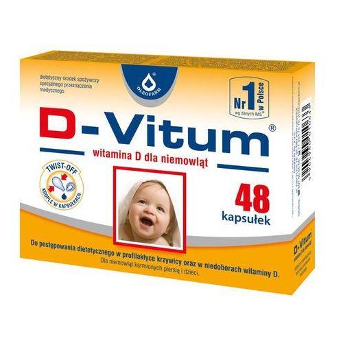 D-Vitum witamina D dla niemowląt kaps.twist-off 400 j.m. 48 kaps., postać leku: kapsułki