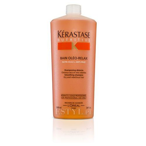 Kerastase Oleo-Relax - Kąpiel wygładzająca do włosów grubych, nieposłusznych 1000ml - produkt z kategorii- odżywki do włosów