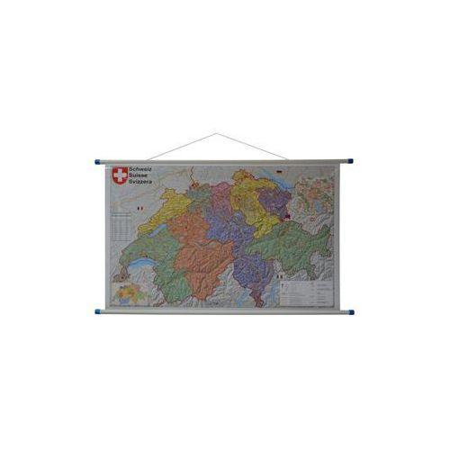 Szwajcaria mapa ścienna kody pocztowe 1:400 000 , produkt marki Stiefel
