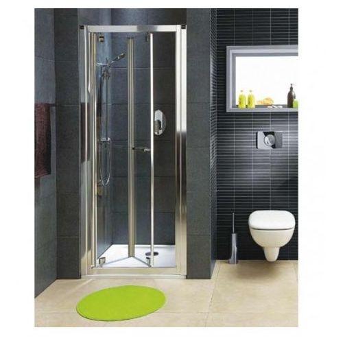 Drzwi wnękowe bifold GEO 6 90 PRISMATIC KOŁO GDRB90205003 (drzwi prysznicowe)