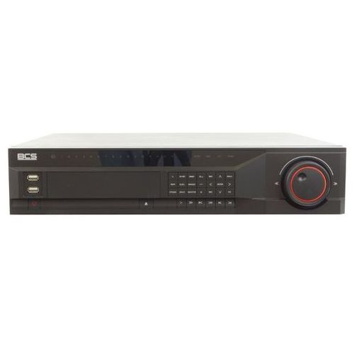 BCS-NVR1608 Rejestrator IP sieciowy 16 kanałowy, D1, 720P, 1080P, Obsługa HDMI, VGA, USB 2.0, 8 dysków HDD