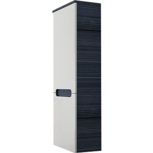 Produkt z kategorii- regały łazienkowe - CLASSIC -Słupek boczny SB-350, biały/Strip Onyx L