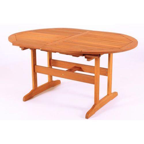 Produkt Home&Garden Stół ogrodowy z drewna MERANTI 200cm, owal