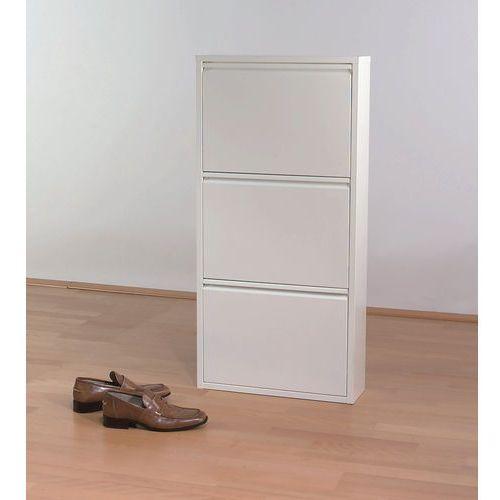 Kare design :: Szafka na buty Caruso 3 biała - Kare design :: Szafka na buty Caruso 3 biała ||biały, marki Kare Design do zakupu w 9design.pl