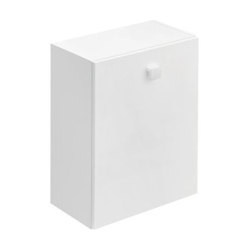 CERSANIT szafka wisząca Nano III biała z koszem (półsłupek) S542-011 - produkt z kategorii- regały łazi
