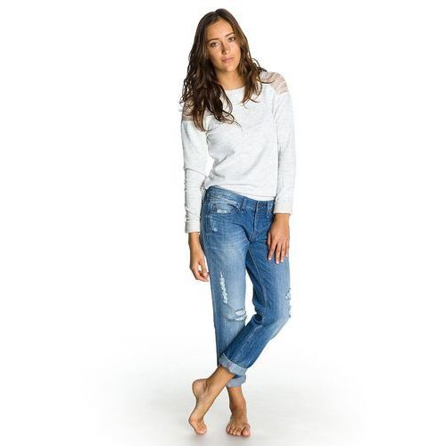 jeansy Roxy Tomboy - BJDW/Vintage Medium Blue - produkt z kategorii- spodnie męskie