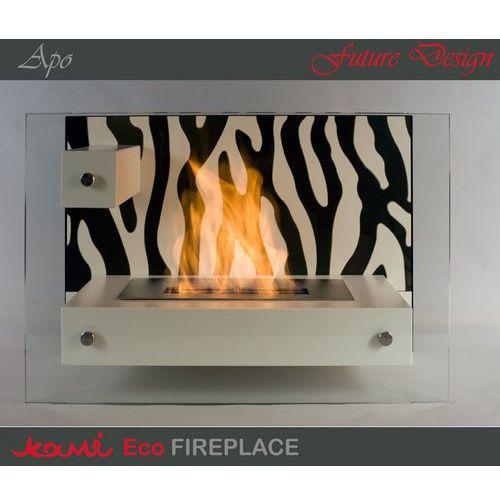 Biokominek Apo Zebra White by Kami - oferta [55f9d5a68f4333dc]
