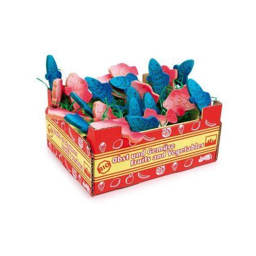 Skrzyneczka rybek z filcu - zabawka dla dzieci oferta ze sklepu www.epinokio.pl