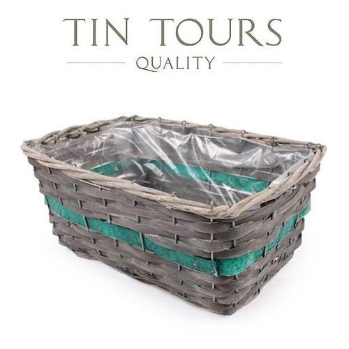Produkt PROSTOKĄTNY KOSZYK WIKLINOWY 35x25x16 cm, marki Tin Tours Sp.z o.o.