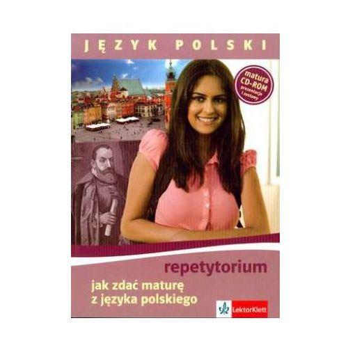 Język polski Jak zdać maturę z języka polskiego repetytorium + cd - oferta [55c92173478162e3]