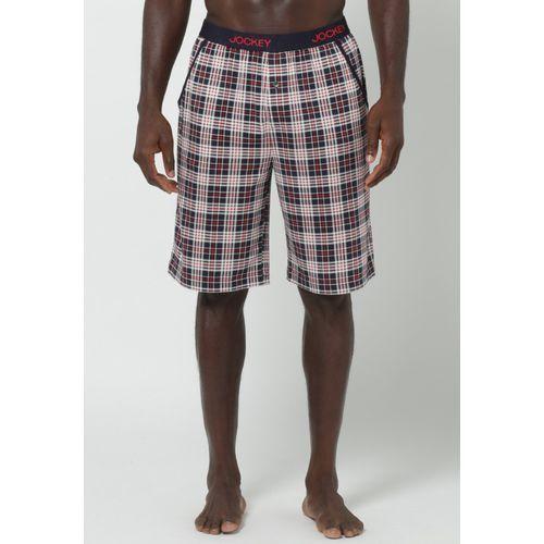 Jockey DOWN THE GYM Spodnie od piżamy black/red - produkt z kategorii- spodnie męskie