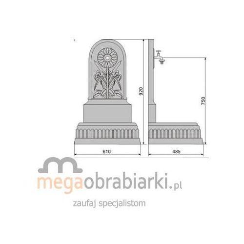 POLSKA HP Umywalka ogrodowa UM-5 RATY 0,5% NA CAŁY ASORTYMENT DZWOŃ 77 415 31 82 od Megaobrabiarki - zaufaj specjalistom