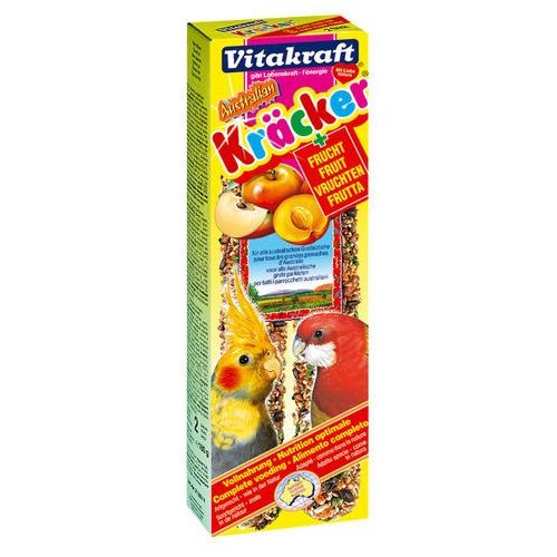 Kracker Australian kolba dla nimfy owocowa