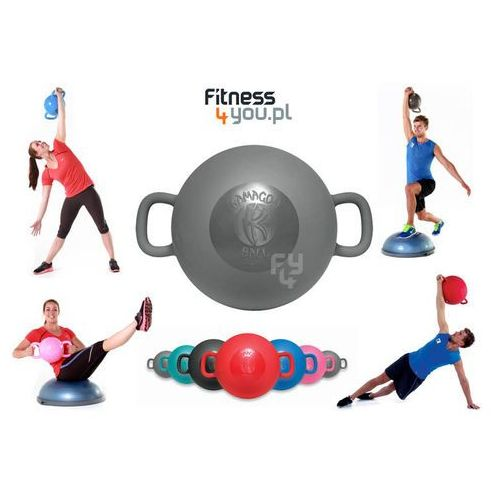 PIŁKA KAMAGON BALL MINI (SZARA) :: POLECANY SPRZEDAWCA :: TRUSTED SHOPS :: TEL 801000505 :: www.aerobik.fitness, produkt marki Kamagon Fitness