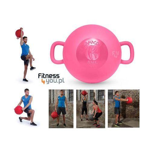 PIŁKA KAMAGON BALL (RÓŻOWA) :: POLECANY SPRZEDAWCA :: TRUSTED SHOPS :: TEL 801000505 :: www.aerobik.fitness, produkt marki Kamagon Fitness