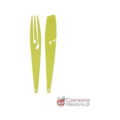 Zestaw: szpikulec i nóż Koziol Shadow, zielone od Czerwona Maszyna
