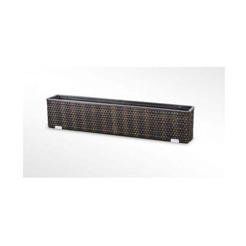 Donica technorattanowa PR 980x160x360, produkt marki Ogrodosfera.pla