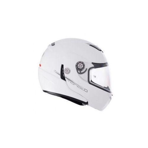 Lazer Kask  MONACO Pure Glass Lumino (Biały) z kat. kaski motocyklowe