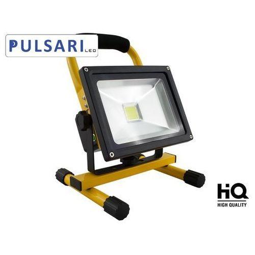 Naświetlacz Halogen Reflektor Lampa 20W z akumulatorem PULSARI LED sprawdź szczegóły w sklep.BestLighting.pl Oświetlenie LED
