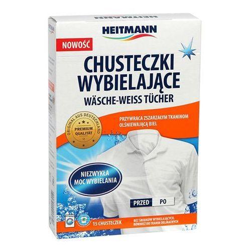 HEITMANN 15szt 15601 Chusteczki do prania wybielające, Heitmann z bdsklep.pl