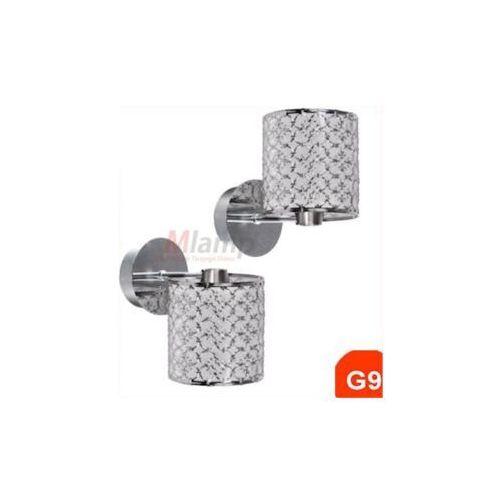 Kinkiet LAMPA ścienna OPRAWA kuchenna MARRAKECH  21-14160 chrom halogen, produkt marki Candellux