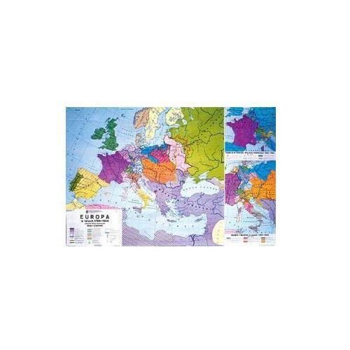 Produkt Europa w latach 1789-1814. Mapa ścienna Europy, marki Nowa Era