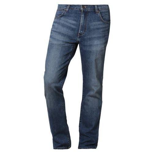 Produkt z kategorii- spodnie męskie - Wrangler Jeansy Straight leg niebieski