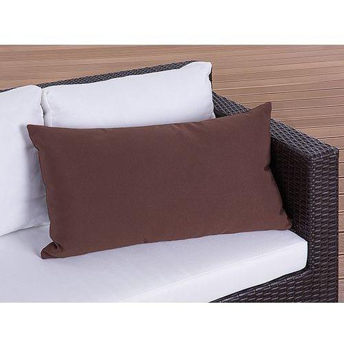 Towar Poduszka ogrodowa - dekoracyjna - akcesoria ogrodowe - poduszka 40x70 cm brazowa z kategorii pozostałe