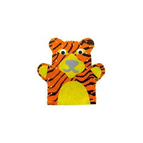 Zestaw Mini - Pacynka tygrysa (pacynka, kukiełka)