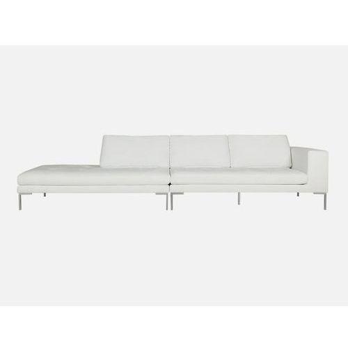 Sofa Mattias narożna lewa SET4 DIVINE 99 white tkanina biała  E1567-5210-2S-DIVINE99, Sits