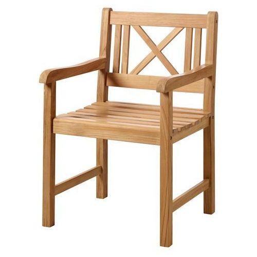 Krzesło ogrodowe Cinas Rosenborg teak ze sklepu All4home