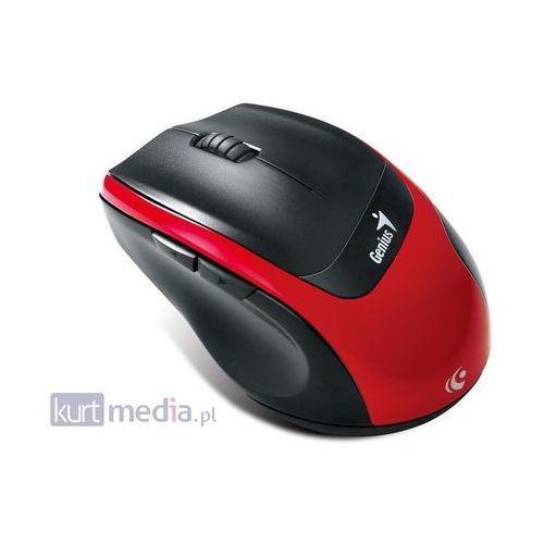 Genius MYSZ GENIUS DX-7100 BlueEye OPTICAL BLACK/RED WIRELESS USB z kat. myszy, trackballe i wskaźniki