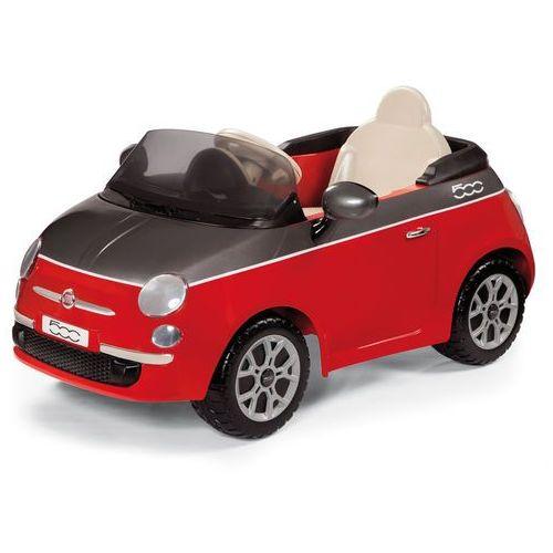 PEG PEREGO Samochód elektryczny Fiat 500 czerwony ze sklepu Mall.pl