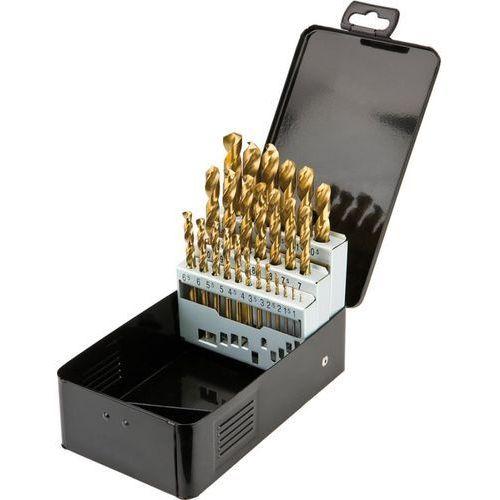 Zestaw wierteł do metalu GRAPHITE 57H200 HSS-TiN 1.0 - 13.0 mm (25 elementów) + DARMOWA DOSTAWA!, kup u jednego z partnerów