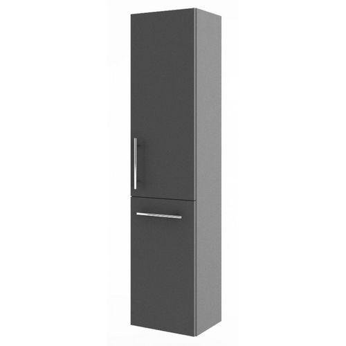 AQUAFORM szafka wysoka z koszem Amsterdam antracyt (słupek) 0415-202012 - produkt z kategorii- regały łazie