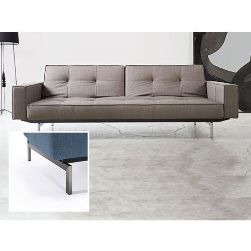 Sofa Splitback z podłokietnikami szara 216 nogi stalowe  741010020216-741010020-8-2, INNOVATION iStyle