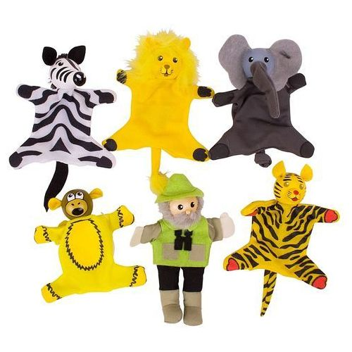 Oferta Pacynki dla dzieci na palec. Safari, Bigjigs (pacynka, kukiełka)