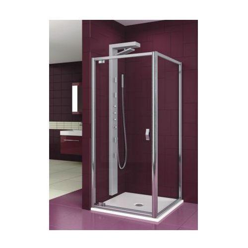 Oferta AQUAFORM drzwi Salgado 80 szkło przejrzyste, montaż we wnęce lub ze ścianką 103-06075 (drzwi prysz
