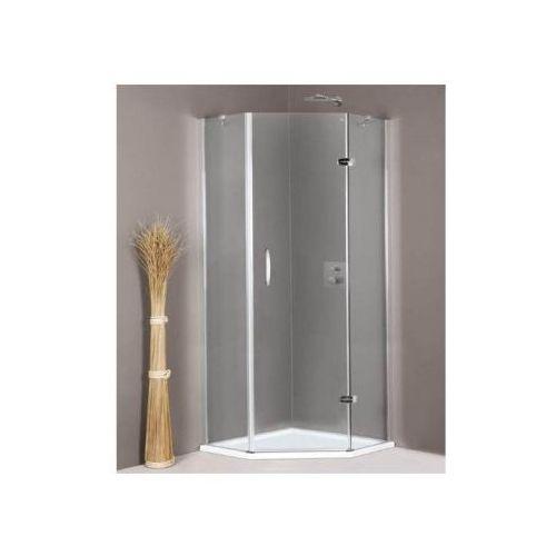 HUPPE AURA ELEGANCE - Drzwi skrzydłowe ze stałymi segmentami, 1-częściowe 400901 (drzwi prysznicowe)